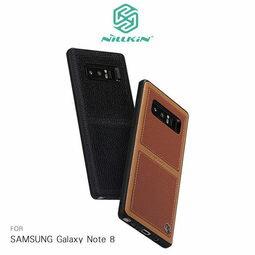 愛瘋潮工作室:【愛瘋潮】NILLKIN三星SAMSUNGGalaxyNote8(6.3吋)巴特商務手機殼可插卡保護殼保護套