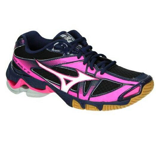 [陽光樂活=]MIZUNO美津濃女排球鞋室內運動鞋WAVEBOLT6V1GC176072