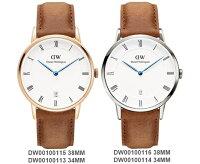 情人對錶推薦到【Cadiz】瑞典正品 Daniel Wellington 手錶 DW00100115 DW00100113 玫瑰金 DW00100116 DW00100114 銀色 DAPPER DURHAM 淡棕色真皮皮革 羅馬藍色指針日期窗 38mm 34mm 對錶 情侶錶 男女錶 兩年保固就在Cadiz代購精品推薦情人對錶
