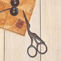日本古典復古風剪刀-復古鳥