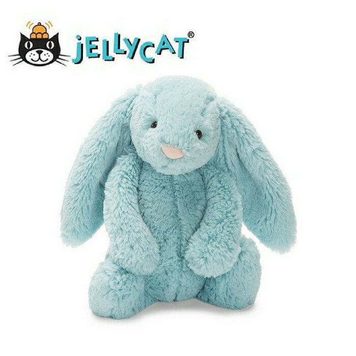 ★啦啦看世界★ Jellycat 英國玩具 / 冰雪奇緣藍兔子 玩偶 彌月禮 生日禮物 情人節 聖誕節 明星 療癒 辦公室小物