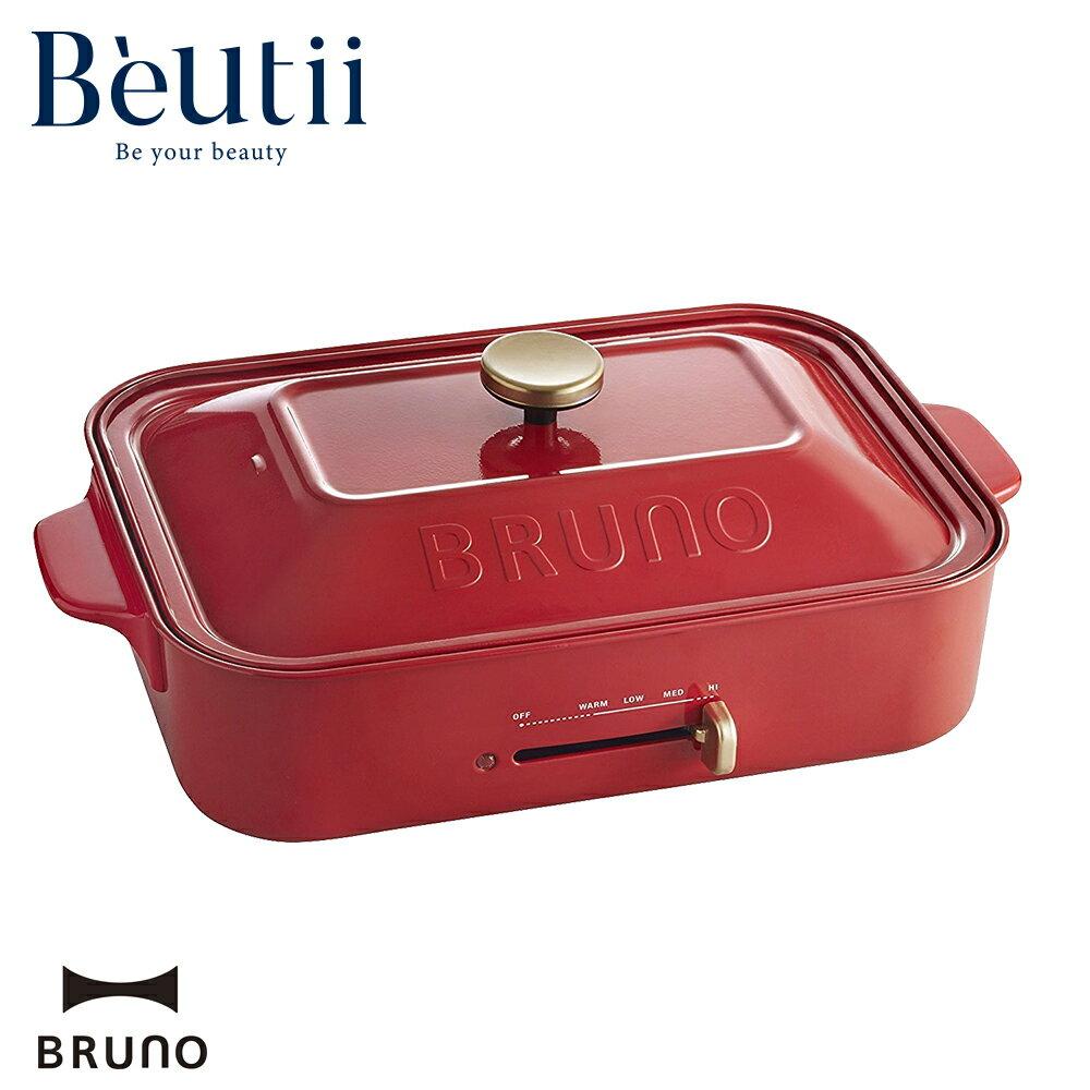 BRUNO 多功能 電烤盤 藍色 紅色 台灣電壓 原廠公司貨 保固一年 章魚小丸子 中秋 烤肉