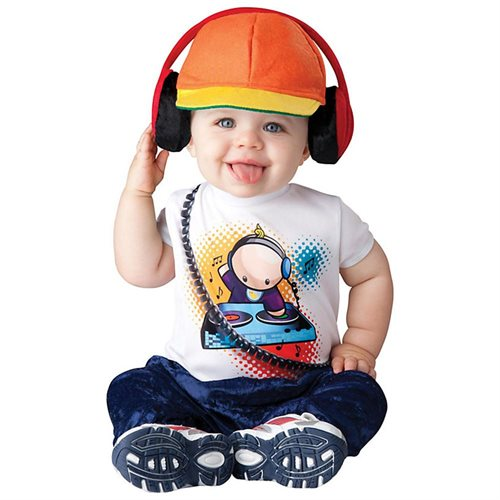 Baby Beats DJ Costume for Toddler 0