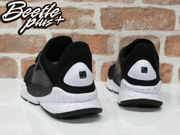 BEETLE NIKE SOCK DART 黑白 潑墨 黑襪 襪套 透氣 輕量 慢跑鞋 833124-001 2