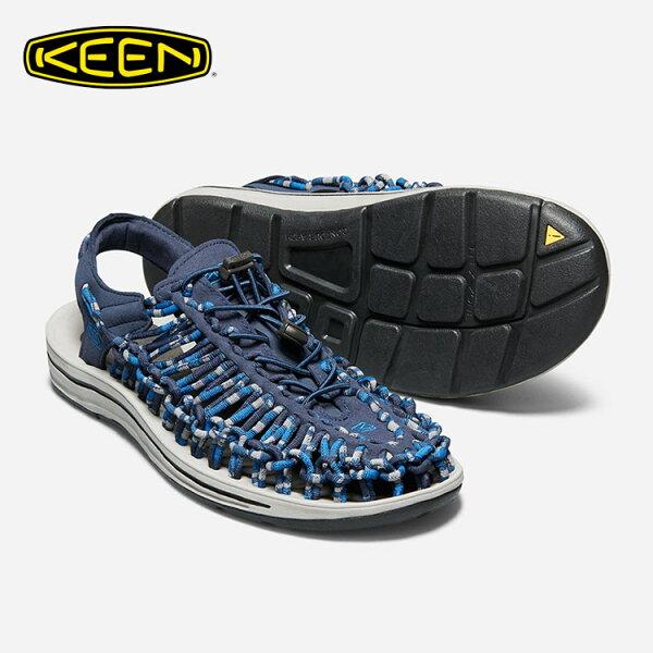 KEEN男款織帶涼鞋Uneek1018700城市綠洲(編繩結構、輕量、戶外休閒鞋、運動涼鞋)