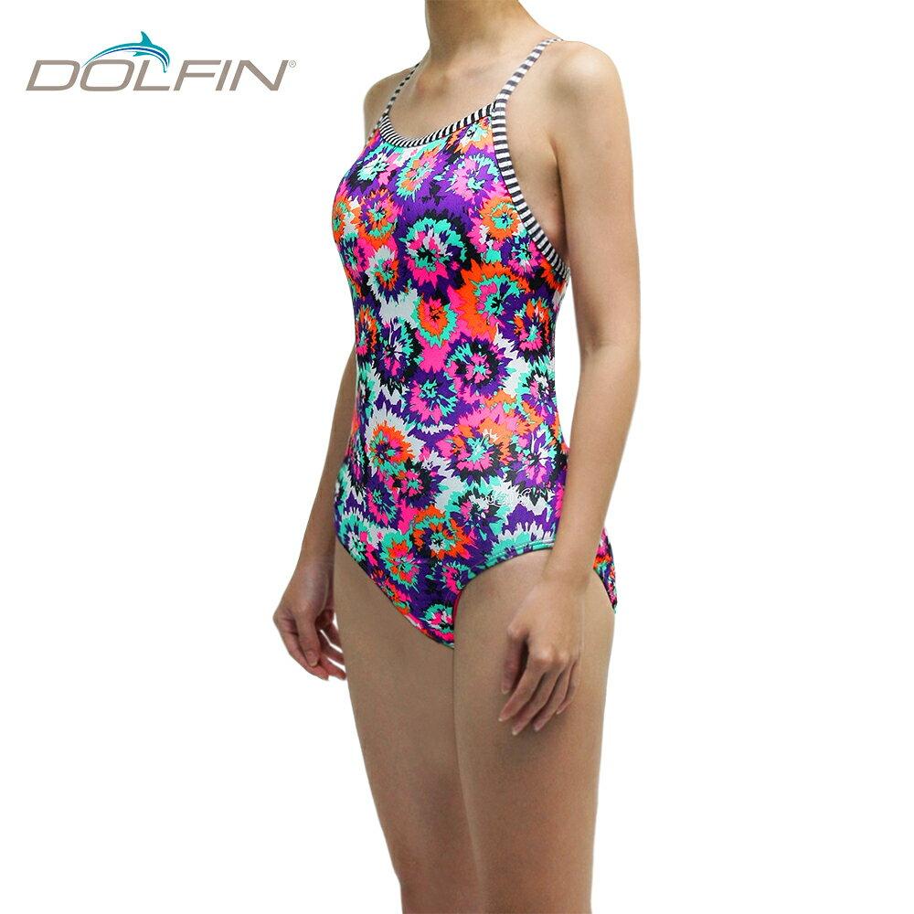 美國拓芬DOLFIN女性運動連身泳裝Cosmo - 限時優惠好康折扣