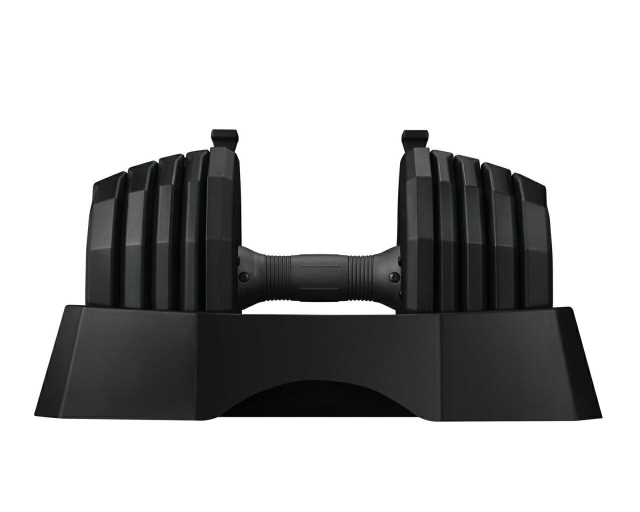 【Byzoom Fitness】 調整式啞鈴 (50LB/支) 五段重量秒速調整/長度隨重量改變 - 50磅單支