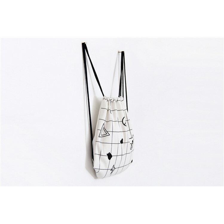 手提包 帆布包 手提袋 環保購物袋【SPYF11】 BOBI  11/10 2
