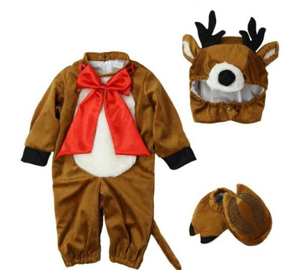 美麗大街【MB01E29】兒童套裝(麋鹿款)
