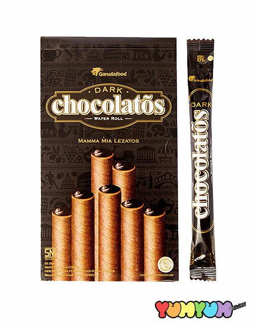 黑雪茄巧克力威化捲(16gx20支入)