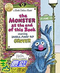 [106美國直購] 2017美國暢銷兒童書 The Monster at the End of This Book Hardcover