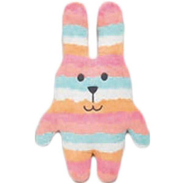 【預購】CRAFTHOLIC 宇宙人 - 彩虹兔兔 愛你傳情熊寶貝枕 - 彩虹兔兔 - 限時優惠好康折扣