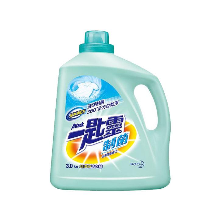 一匙靈 制菌 超濃縮洗衣精 3kg(4入)/箱【康鄰超市】