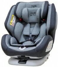 【Nania】 納尼亞 納歐聯名 360度旋轉 0-12歲 Isofix 汽車安全座椅 (紅/灰/藍)