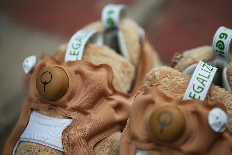 熊麻吉 BEETLE REEBOK X BAIT X TED 2 三方聯名  NASTY INSTAPUMP FURY 熊麻吉 聯名 生氣版 毛毛 泰迪熊 泰德  AQ9351 5