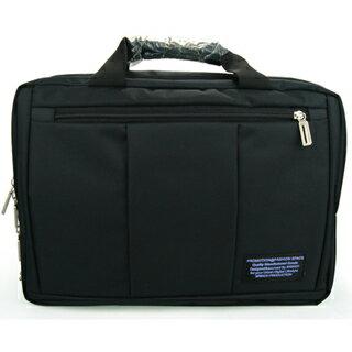 15.6吋 三用 可後背 手提 側背  筆電包 CN046 黑