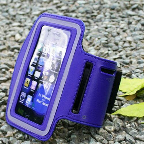 3.5吋 智慧手機運動臂套 手腕套(SB012) 藍