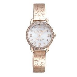 COACH 漫步巴黎時尚手鐲腕錶/14502355