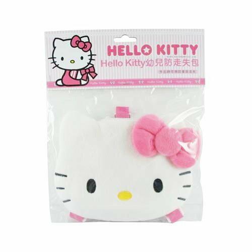 【唯愛日本】13110500027 頭型幼兒防走失背包-粉結 三麗鷗 Hello Kitty 凱蒂貓 兒童用品 背包