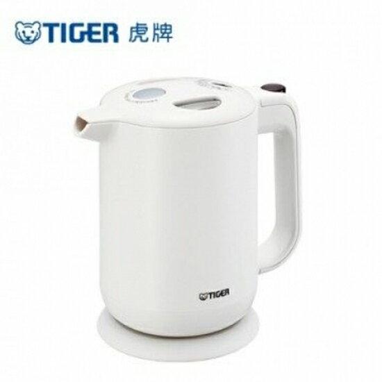 【TIGER虎牌】1.0L電器快煮壺(白) PFY-A10R