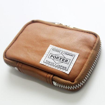 日標PORTER吉田FREE STYLE 駝色鑰匙包 現貨707-07177 柒彩年代【NW444】日本製
