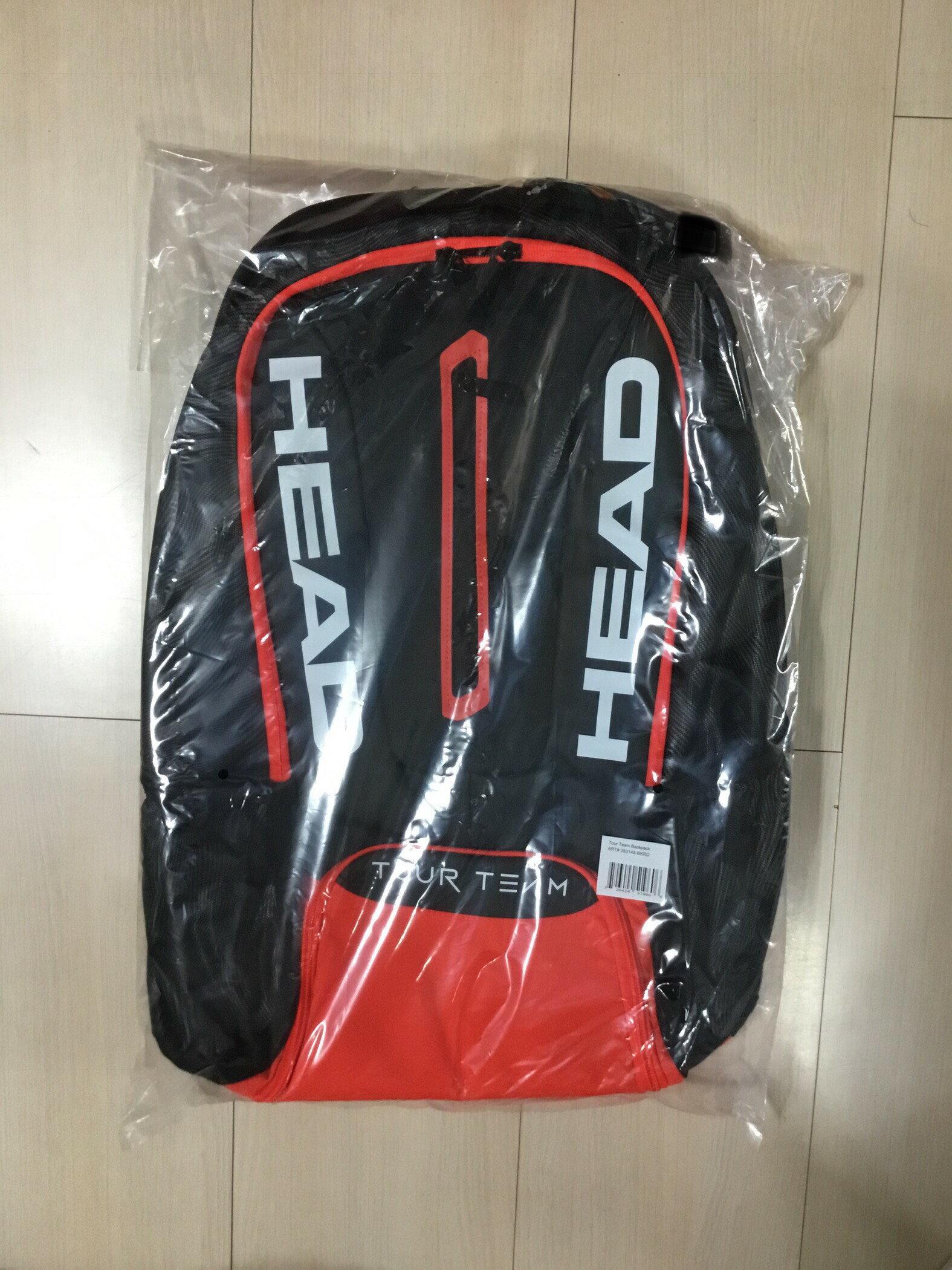Head Tour Team 網球後揹包(紅)