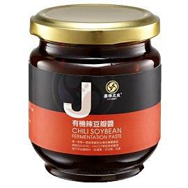 喜樂之泉~有機(辣)豆瓣醬180公克/罐