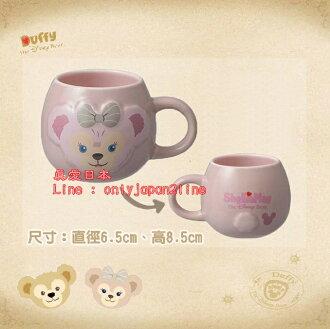【真愛日本】16070800035樂園毛絨浮雕馬克杯-雪莉玫  Duffy 達菲熊&ShellieMay 日本帶回 預購
