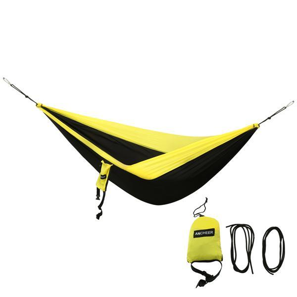 Camping DoubleNest Hammock with Metal Straps 1