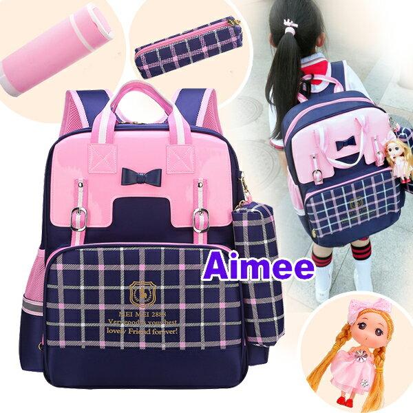 【預購】【Aimee】日本41公分甜美可愛‧貴族學園親子後背包‧正韓側背包女生包包後背包托特包媽媽包手提包小學生書包日系A4包