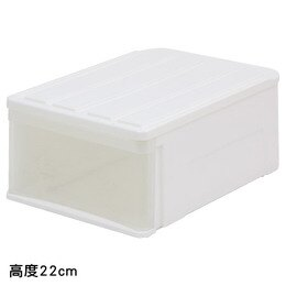 收納盒 CARO53 H22 高度 NITORI宜得利家居