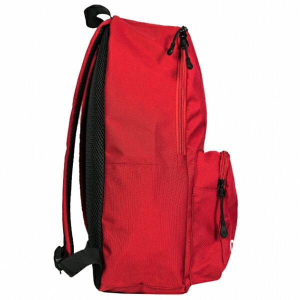Shoestw【NTBCBPK8RD】NEW BALANCE NB 背包 休閒 運動 後背包 筆電包 紅色 白色大LOGO 2