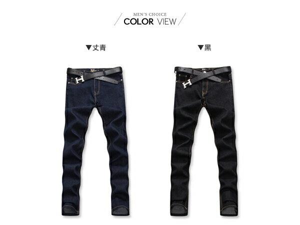 ☆BOY-2☆【PPK85021】牛仔褲韓式街頭素面單寧褲 1