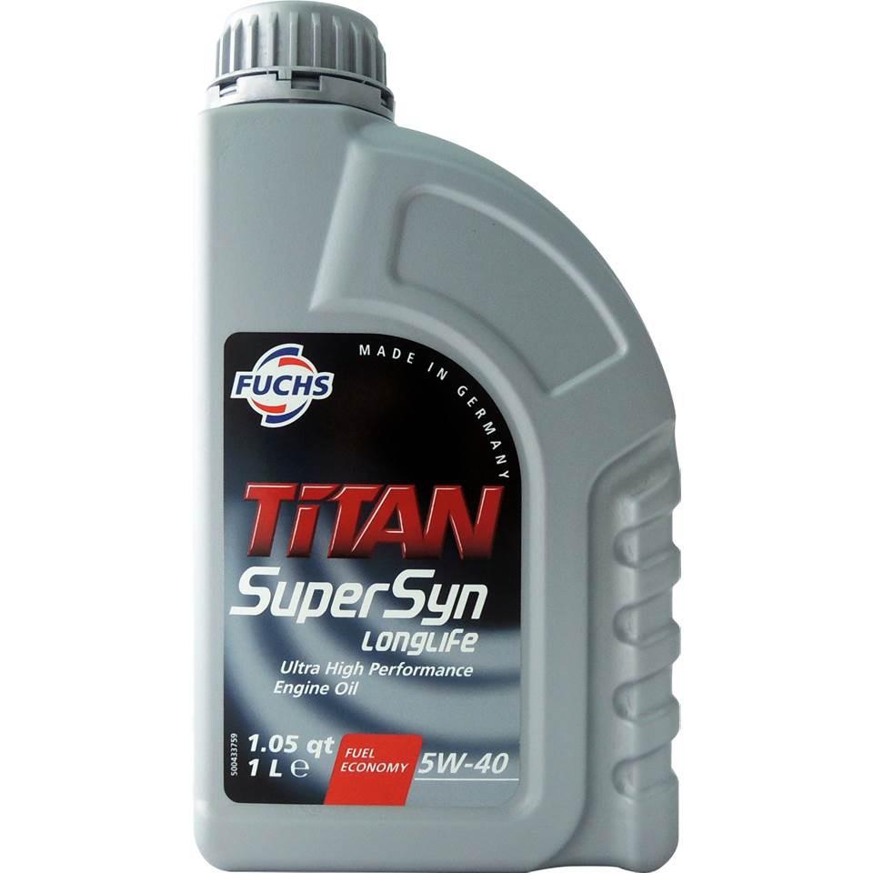 福斯 Fuchs TITAN SUPERSYN LONGLIFE 5W40 SN/CF 長效全合成機油 引擎機油