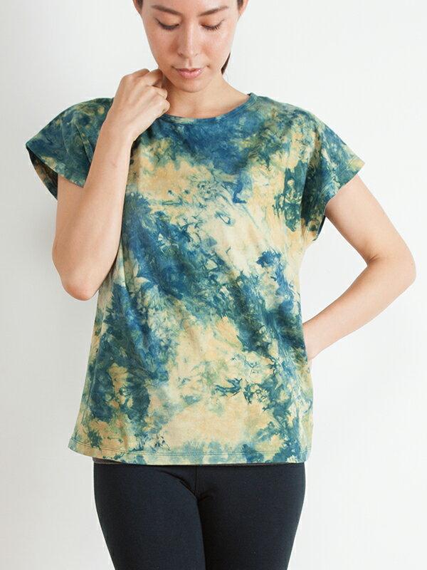 【Bali】100%有機棉自然紮染T恤 0