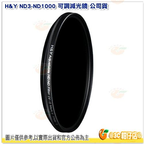 H&YND3-ND100077mm可調減光鏡公司貨ND鏡德國玻璃可調式減光鏡減1.5~10級