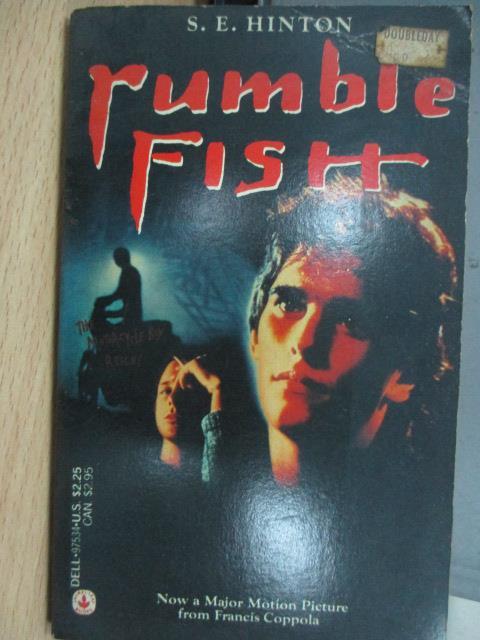 【書寶二手書T1/原文小說_MPP】Rumble Fish