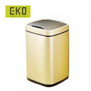 EKO 臻美自動感應不鏽鋼垃圾桶 6L(2色) 0