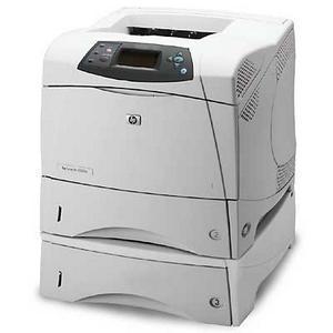 HP LaserJet 4000 4200TN Laser Printer - Monochrome - 1200 x 1200 dpi Print - Plain Paper Print - Desktop - 35 ppm Mono Print - Letter, Legal, Executive, Envelope No. 10, Monarch Envelope - 1100 sheets Standard Input Capacity - 150000 Duty Cycle - Manual D 0
