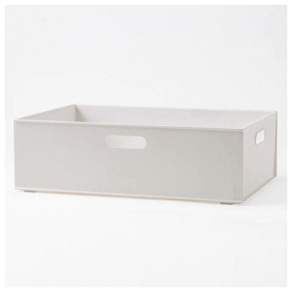 收納盒 橫式半格型 N INBOX GY NITORI宜得利家居 0