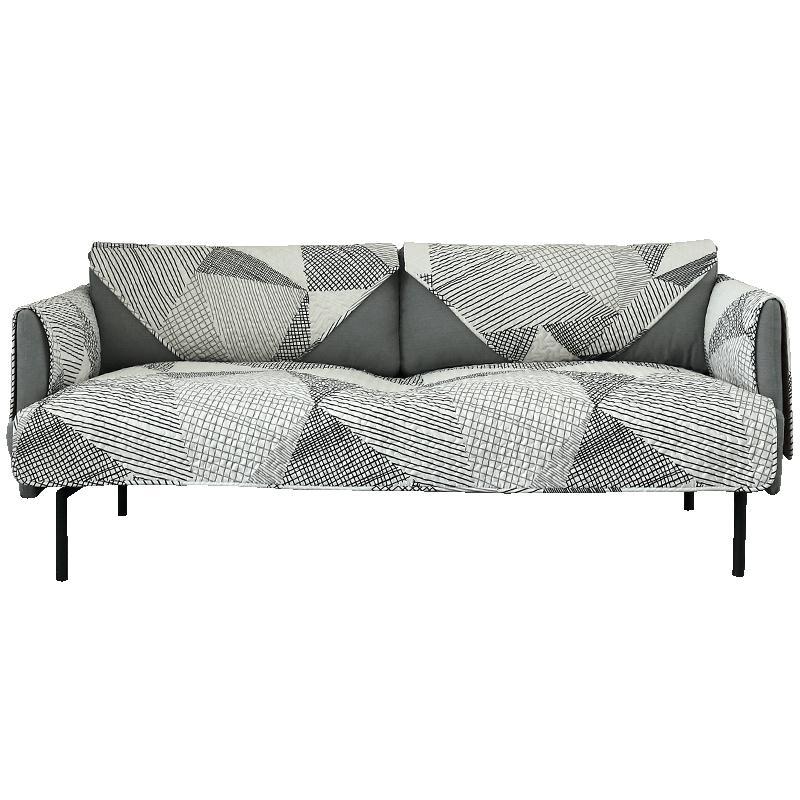 沙發墊四季純棉通用布藝沙發套罩巾現代簡約