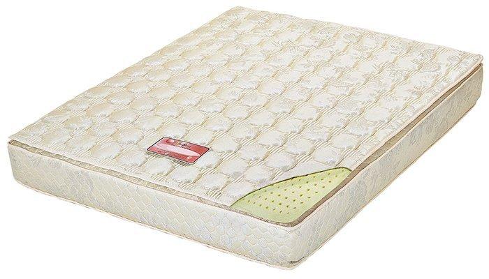 【尚品傢俱】HY-A204-02 硬式三線獨立筒乳膠6尺床墊