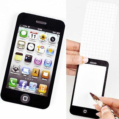 WallFree iPhone4 蘋果手機便條紙 便簽紙