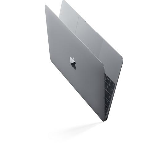 "Apple MNYF2LL/A 12"" MacBook, Retina, 1.2GHz Intel Core m3 Dual Core Processor, 8GB RAM, 256GB SSD, Mac OS, (Space Gray) MNYF2E/A Spanish Keyboard"