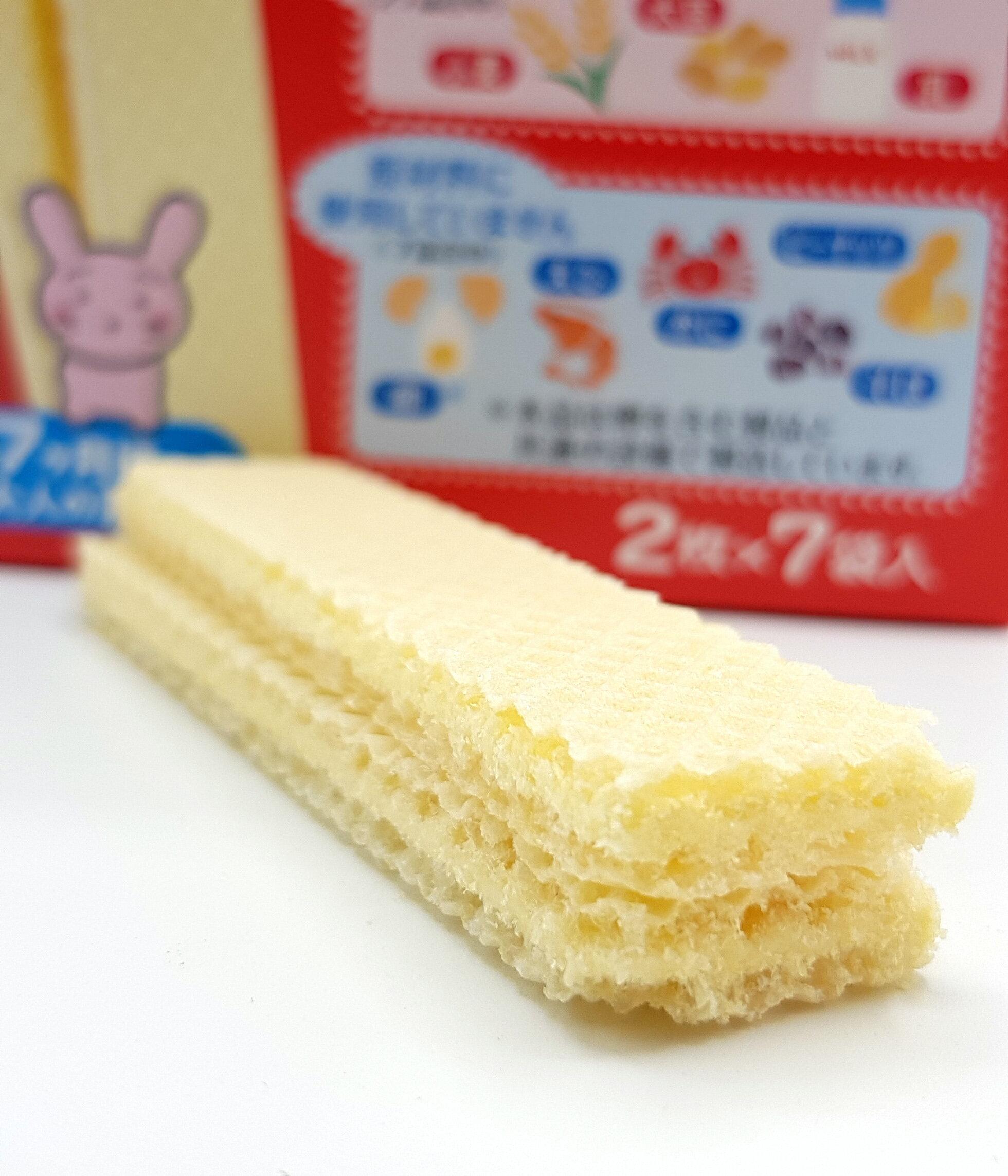 《Chara 微百貨》日本 森永 寶寶 幼兒 嬰兒 營養 點心 威化酥 蛋酥 小饅頭 餅乾 七個月以上 副食品 4