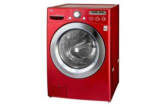 【LG樂金】17kg 6 Motion DD直驅變頻 蒸氣滾筒洗衣機 / 深艷紅(WD-S17NRW)
