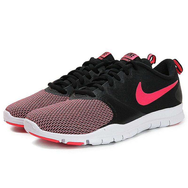 Nike Flex Essential TR 女鞋 慢跑 訓練 多功能 透氣 黑 粉【運動世界】 924344-006