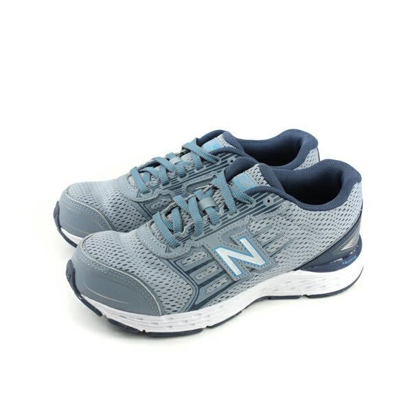 NewBalance680v5系列跑鞋運動鞋童鞋藍色大童KR680RMYno427