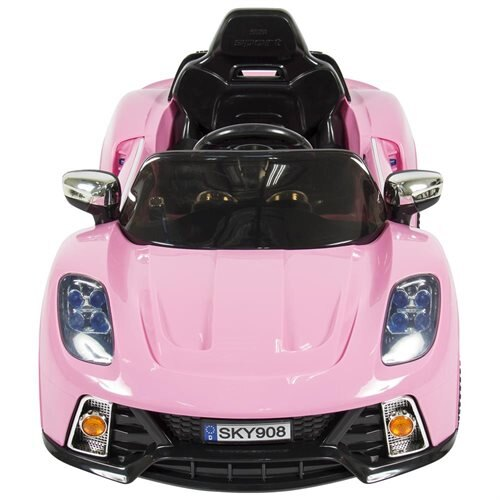 12V Ride On Car Kids W/ MP3 Electric Battery Power Remote Control RC Pink 1
