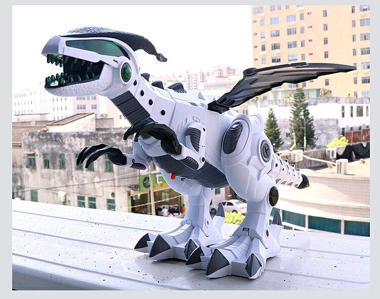 噴霧電動恐龍玩具 電動恐龍 噴霧恐龍 電動噴霧戰龍 機器龍大號 模型玩具 6